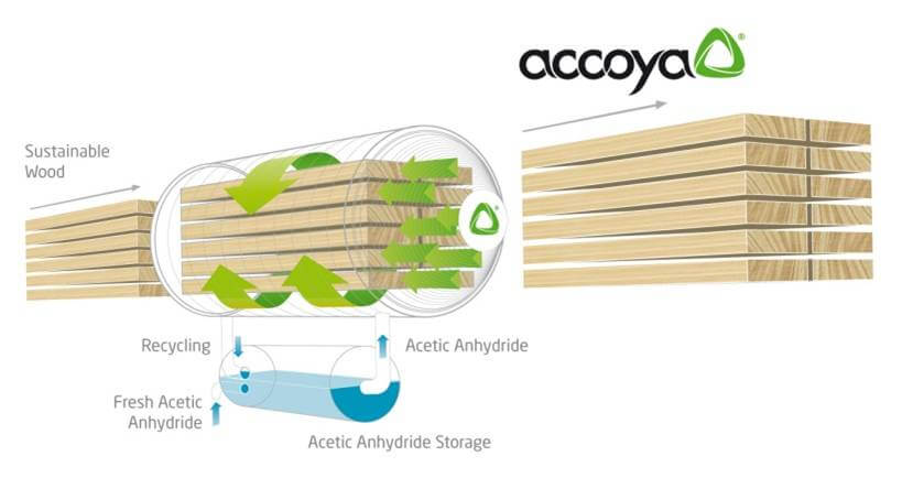 Accoya process