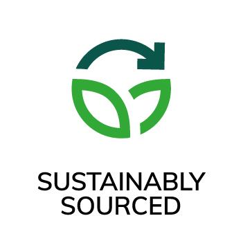 Symbol Hållbart framställt Accoya