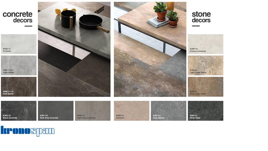 Dekorer concrete och sten
