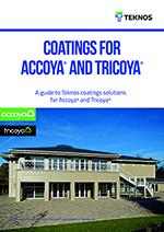 PDF broschyr om ytbehandling av Accoya och Tricoya